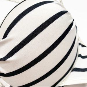 Victoria's Secret Swim - Victoria's Secret Bombshell Striped Bikini Top